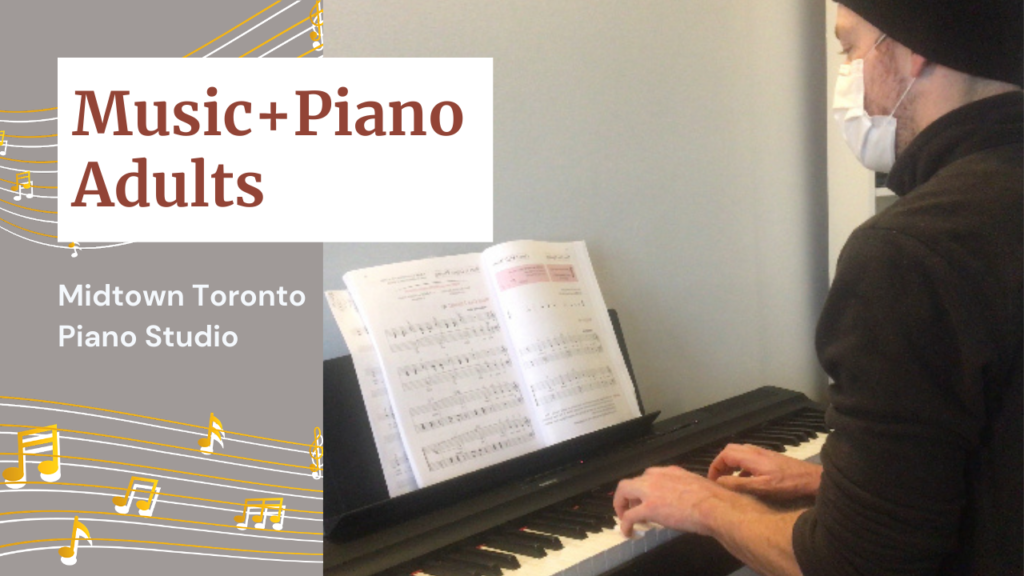 Meet Sam, our leading student of Piano + Adult music program