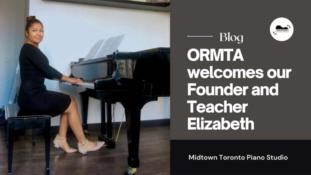 ORMTA welcomes our Founder and Piano Teacher Elizabeth